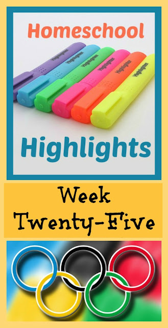 Homeschool Highlights - Week Twenty-Five on Homeschool Coffee Break @ kympossibleblog.blogspot.com