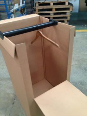 caja para mudanzas, caja armario