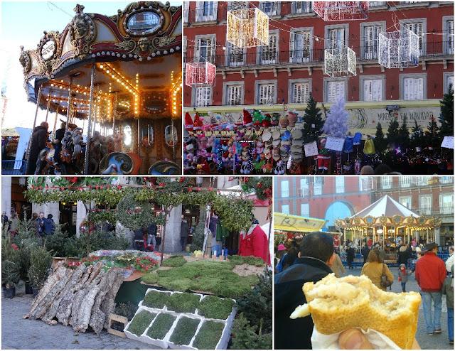Plaza Mayor en Navidad