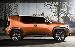 Toyota FT-4X SUV Concept Side