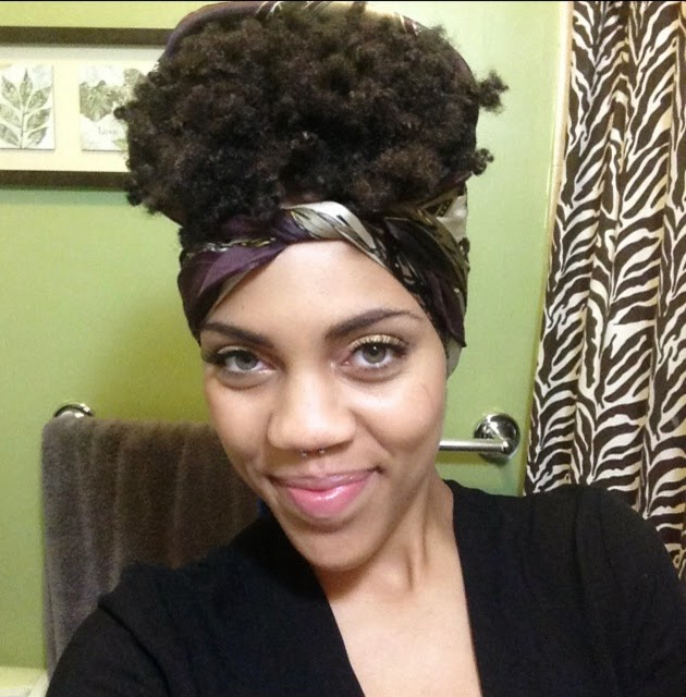 How To Pineapple Short Natural Hair Night Routine The Pretty