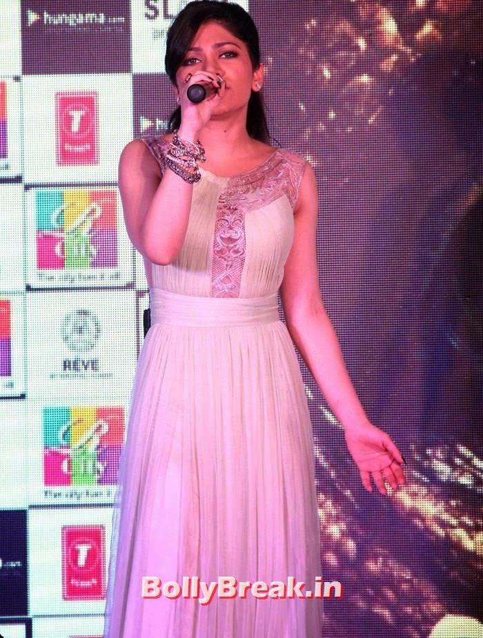 Tulsi Kumar, Khushali & Tulsi Kumar Hot Pics from 'Creature 3D' Music Launch
