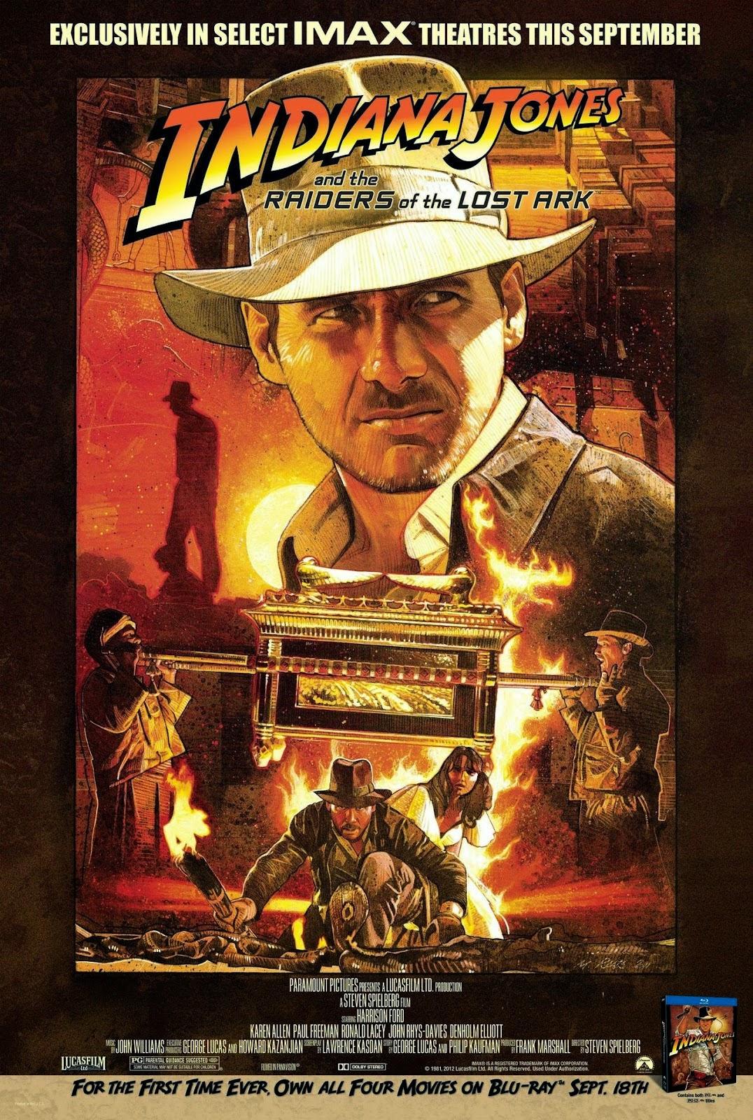Indiana Jones en busca del arca perdida en #sofapelimanta
