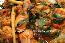 Resep dan cara membuat Ayam Woku Belanga super pedas dan nikmat