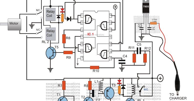 cell phone motor starter controller circuit diagram - controlling motor  with a cell phone circuit diagram