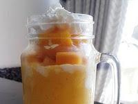 Cara Membuat Resep King Mango Thai (Jus Mangga Ala Thailand)