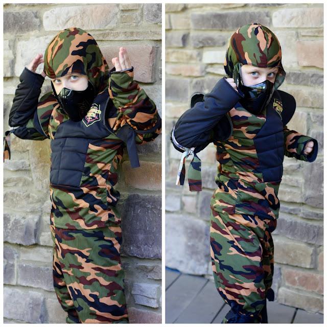 camo ninja costume
