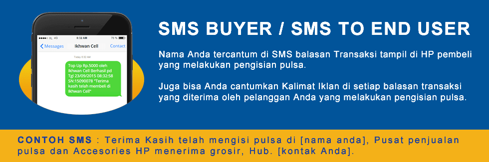 sms buyer pulsa gratis