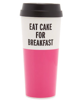 Tasse à café de voyage Eat Cake for Breakfast, New York Kate Spade
