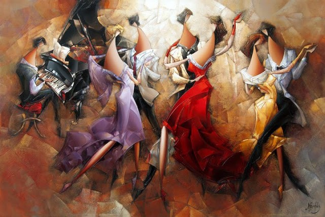 Израильский художник. Nathan Brutsky 13