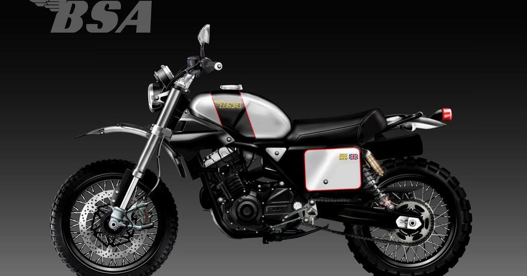 Motosketches Bsa Mx 355 Concept