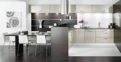 contoh desain dapur minimalis modern masa kini - desain