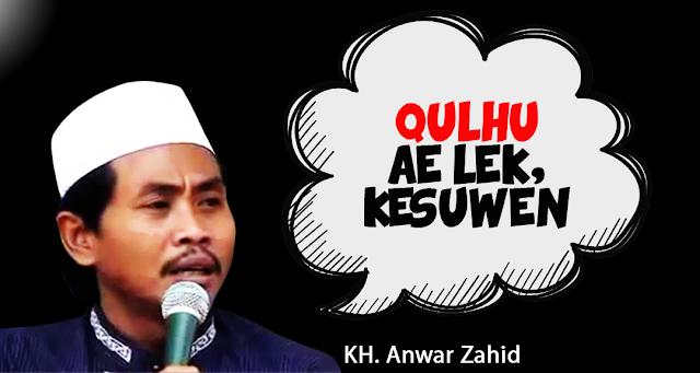 KH Anwar Zahid, Dakwah, Humor dan Ilmu