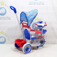 pmb t04 polisi sepeda roda tiga anak