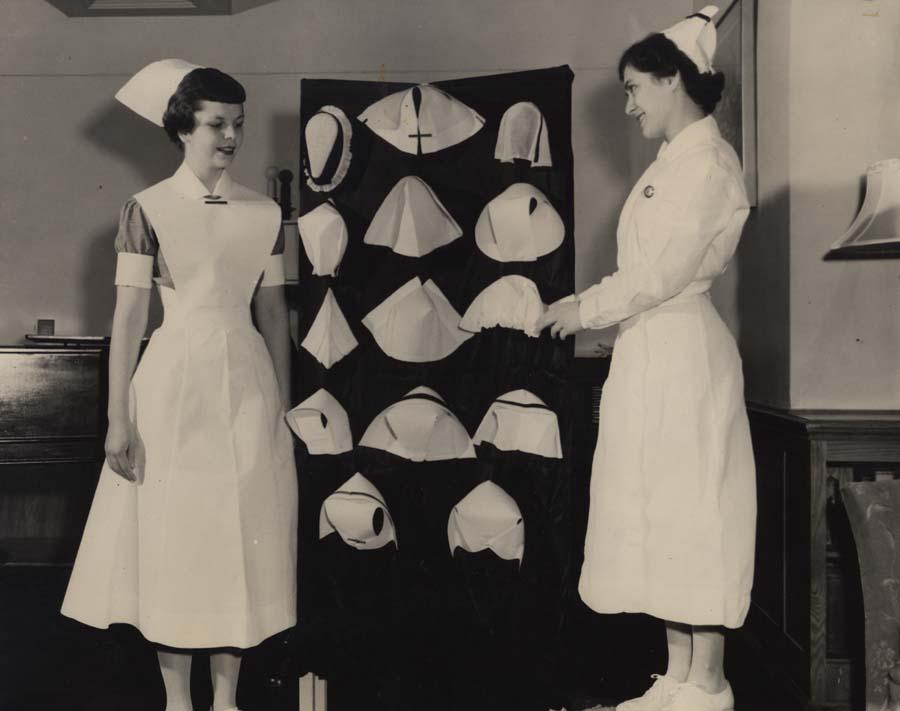 Vintage Nurse Hat 64