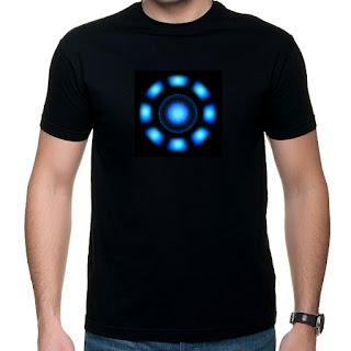 koszulka Iron Man - reaktor