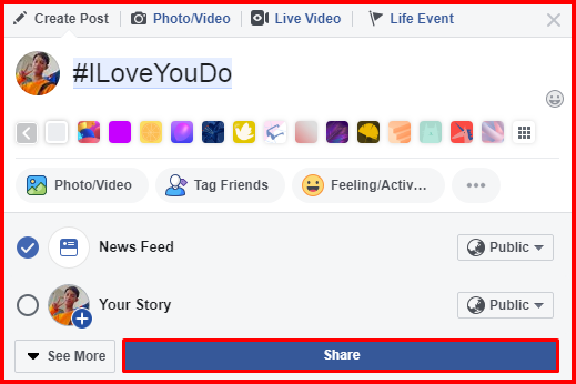 Create and Use Facebook Hashtag