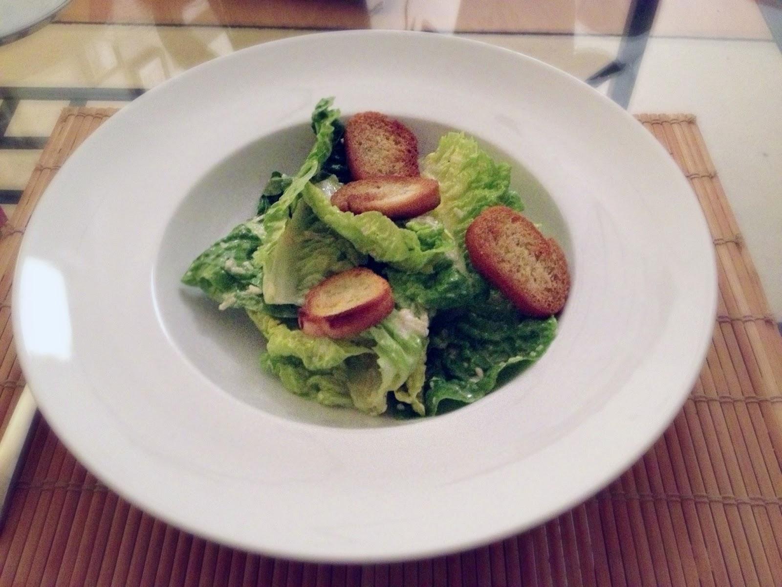 wasabi f r anf nger caesar 39 s salad. Black Bedroom Furniture Sets. Home Design Ideas