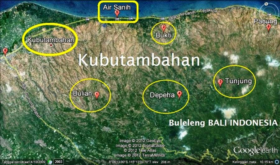 Sejarah desa kubutambahan