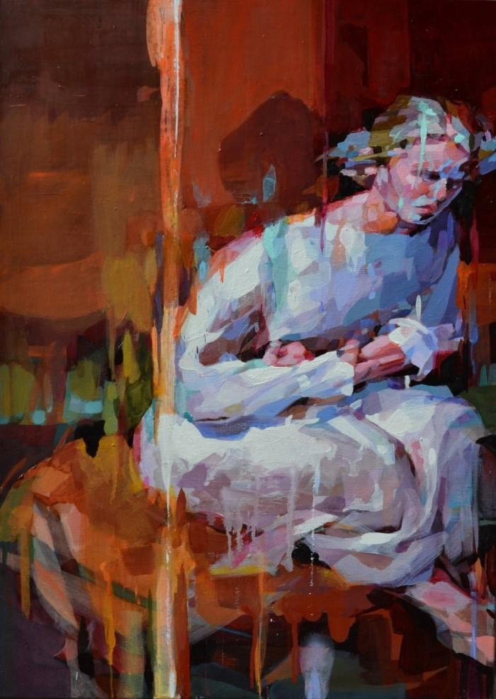 Распадающиеся картины. Melinda Matyas