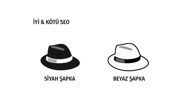 Beyaz Şapka SEO ve Siyah Şapka SEO Teknikleri