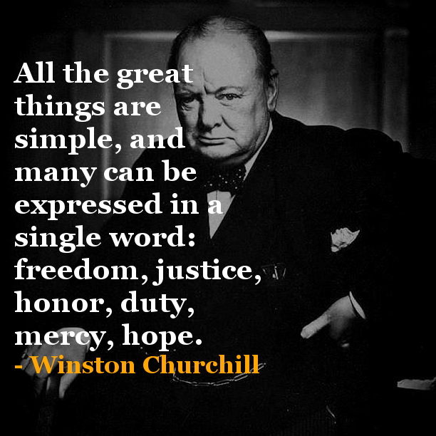 Quotes On Winston Churchill: Thursday Inspiration LunchBOX