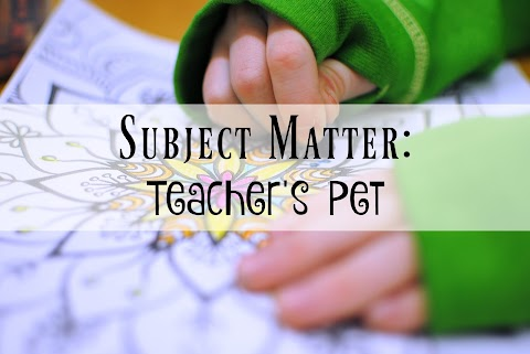Subject Matter: Teacher's Pet