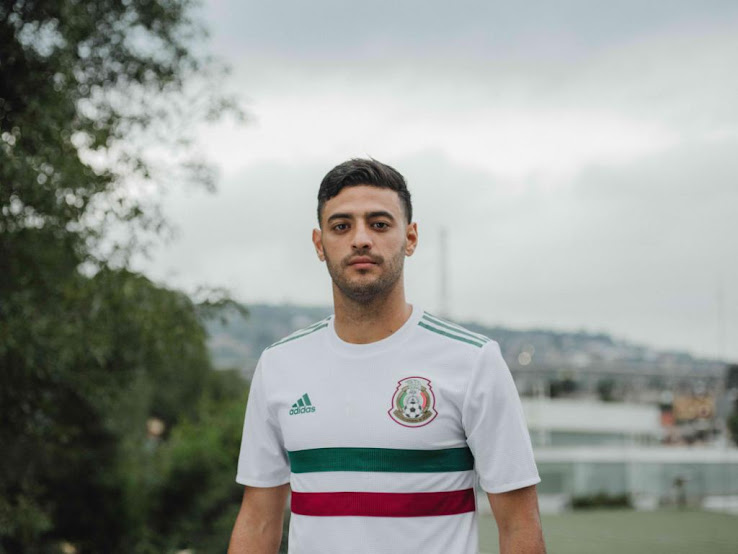 4b319ef5f 2 of 3. 3 of 3. 1 of 3. Mexico 2018 World Cup Away Kit Buy now. Free  worldwide delivery on all orders