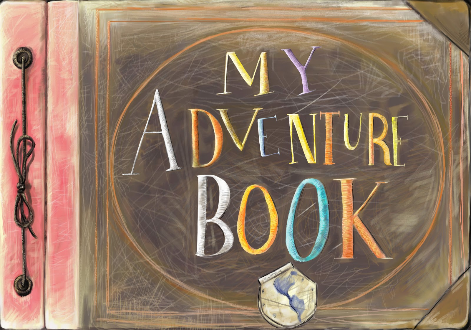 Saturday Sketch-Day: Adventure book
