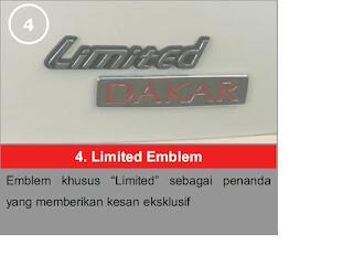Limited Emblem Pajero Limited