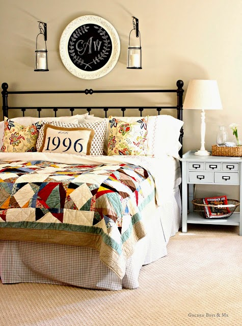 Golden Boys & Me  Master Bedroom How I Found My Style Sundays From My Front Porch To Yours