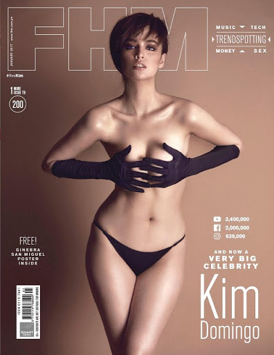 Download Kim Domingo FHM Magazine Philippines January 2017 PDF