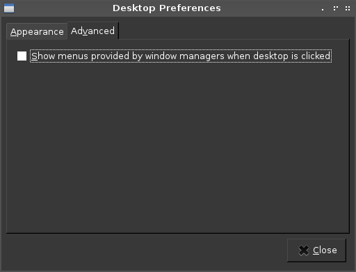 How to Change Right Click Menu on LXDE into openBox mode and vice versa