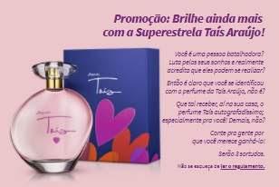 Cadastrar Promoção Jequiti 2018 Perfume Taís Araújo Grátis Participar