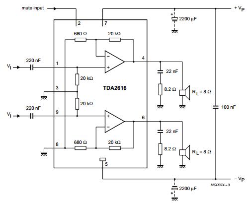 Amplifiercircuits Com Tda2616