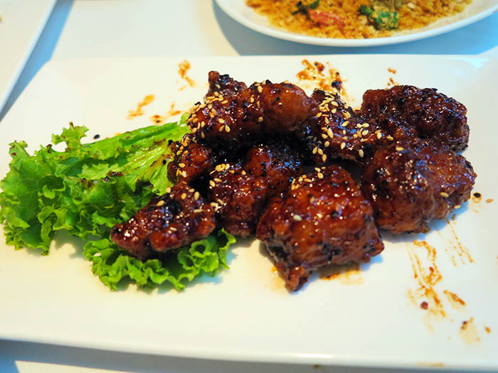 Honey Pork Ribs with Black Pepper Sauce