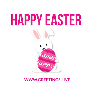 Happy Easter Bunny with eggs 2018 HD wishes.jpg