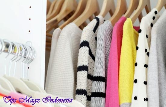 menata lemari pakaian agar mudah menentukan gaya style anda