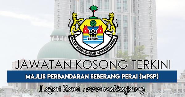 Jawatan Kosong Terkini 2018 di Majlis Perbandaran Seberang Perai