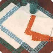 """Set de Mesa """"Retro"""" a Crochet"""
