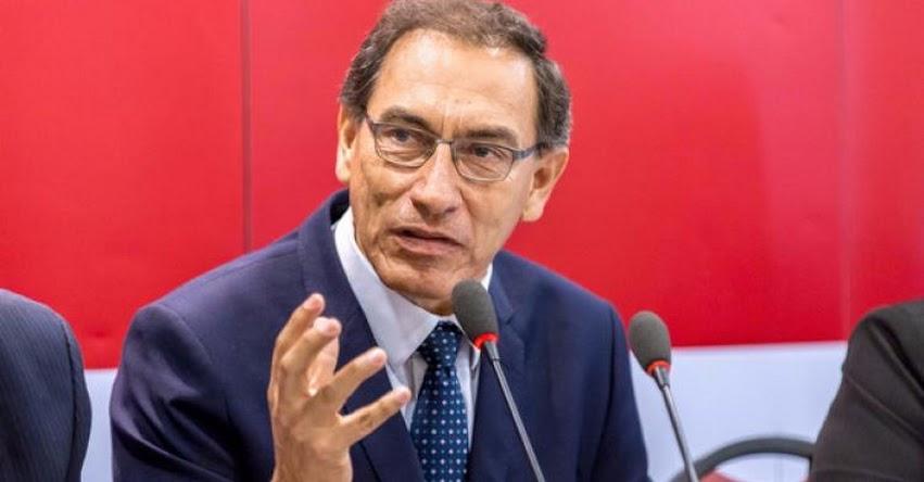 Ministro de Transportes Martín Vizcarra, presentó su renuncia y el presidente no la aceptó