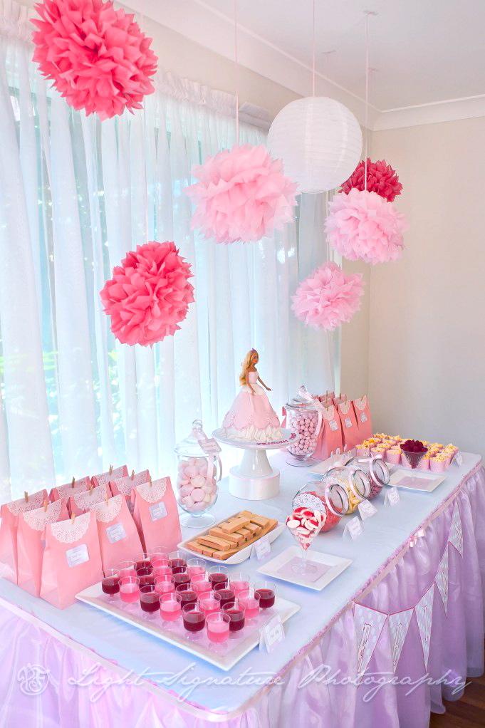 Lyn S Cake Art Pink Princess Dessert Table