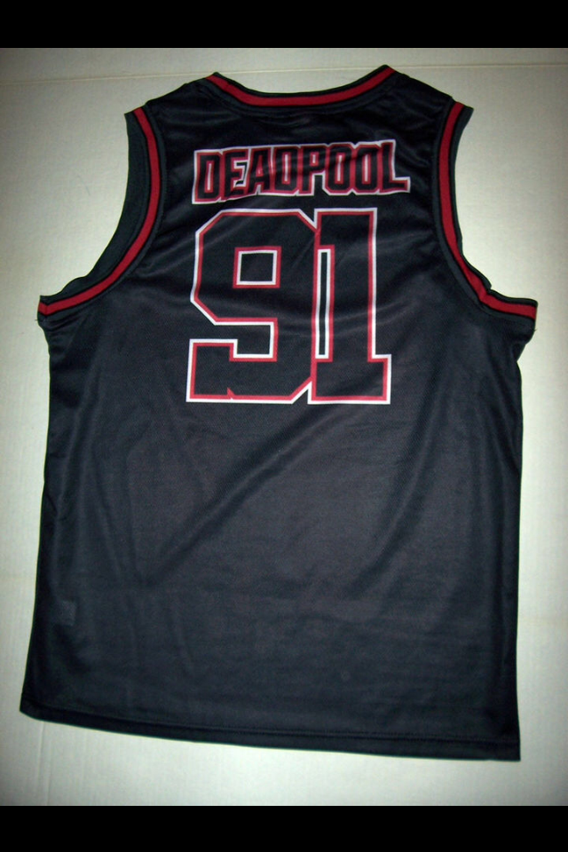 39bea737708 Deadpool Basketball Jersey