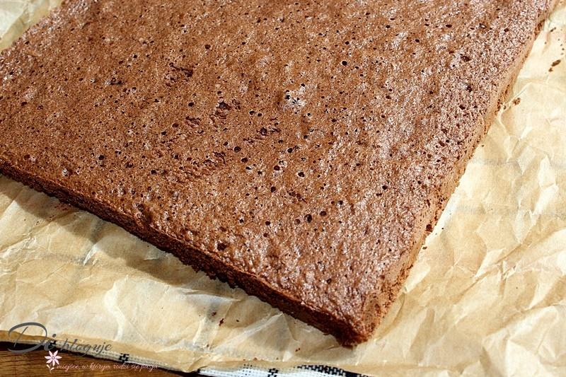 Kakaowy spód biszkoptowy do ciast