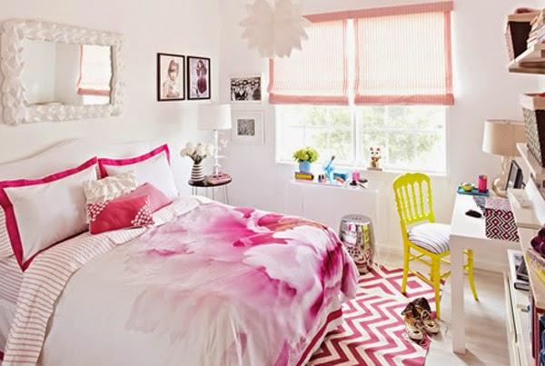 Habitaciones juveniles color rosado dormitorios colores - Combinacion colores habitacion ...