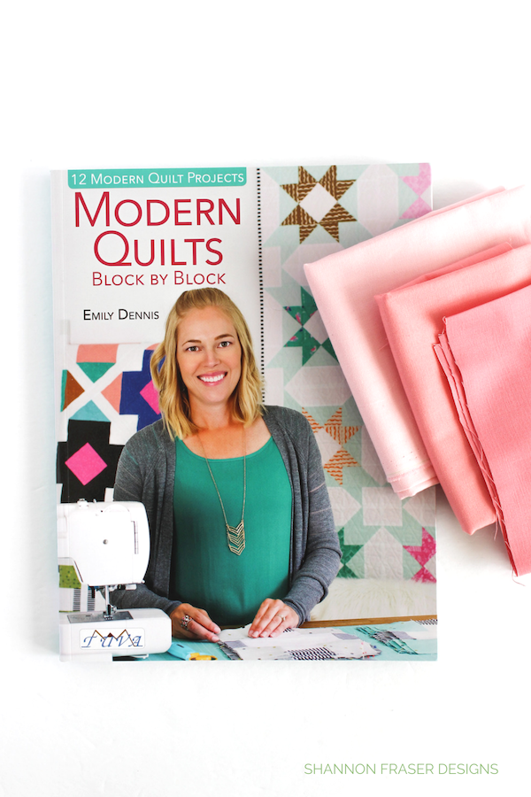 Modern Quilts Block by Block by Emily Dennis | Q4 2018 FAL | Shannon Fraser Designs