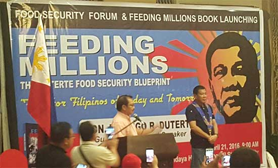 Manny Piñol appointed as 'Agriculture Secretary' by President Rody