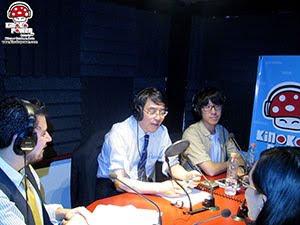 Programa de radio con el embajador Akira Yamada