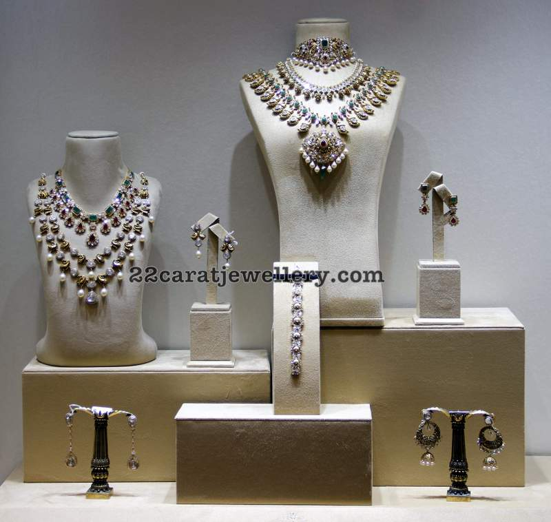 Diamond Sets From Kalasha Fine Jewelry Jewellery Designs