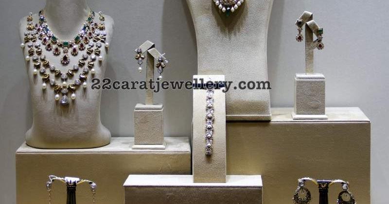 Diamond Sets From Kalasha Fine Jewelry Jewellery Designs
